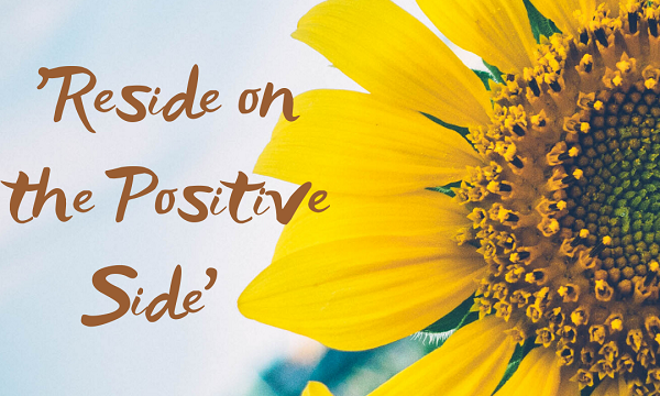 Reside on the positive side
