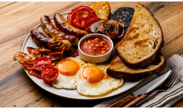 Cooked Breakfast Healthy Tips