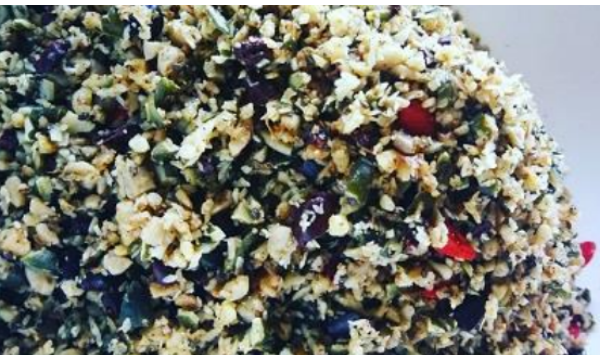 5 Minute No Grain Granola