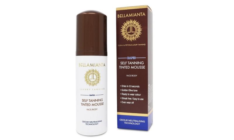 Bellamianta Rapid Self Tanning Tinted Moose