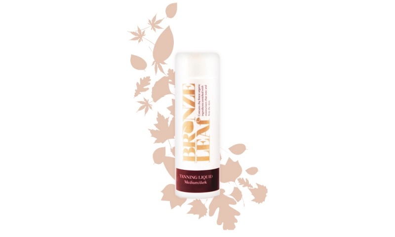 Bronze Leaf Medium / Dark Tanning Liquid