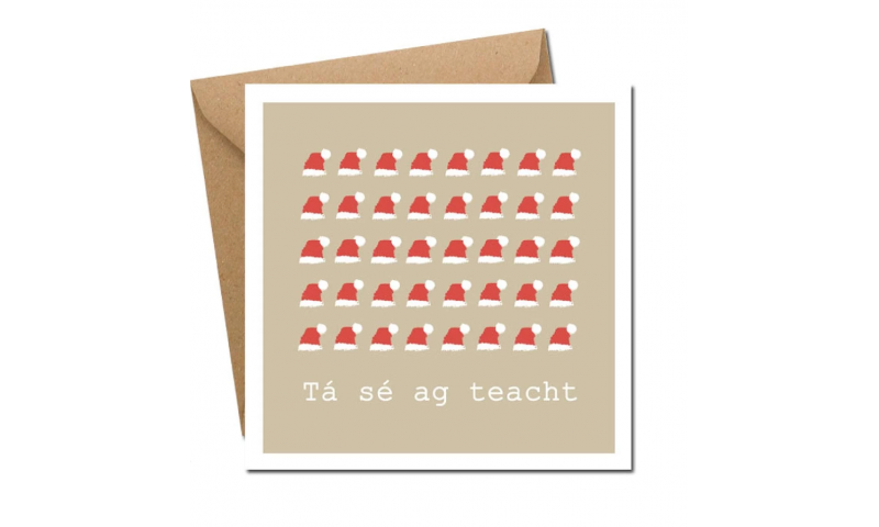 Lainey K Christmas Card: 'Tá Sé Ag Teacht'