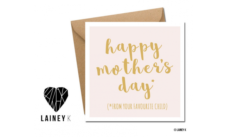 Lainey K Mothers Day Card: Happy Mothers Day