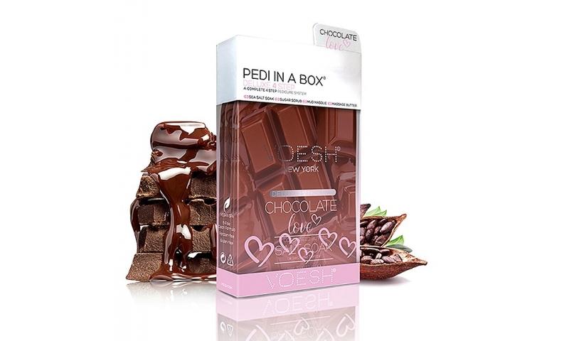 Voesh Pedi In A Box - 'Chocolate Love'