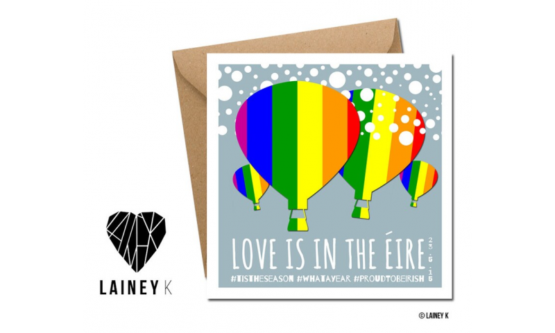 Lainey K Christmas Card: 'Love Is In The Eire'
