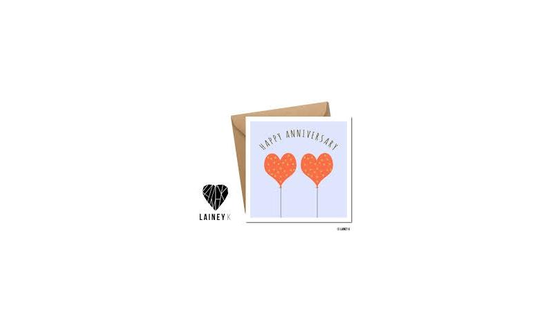 Lainey K Greeting Card: 'Happy Anniversary'