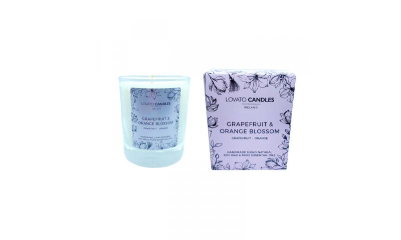Grapefruit & Orange Blossom - Lovato Boxed Clear Candle
