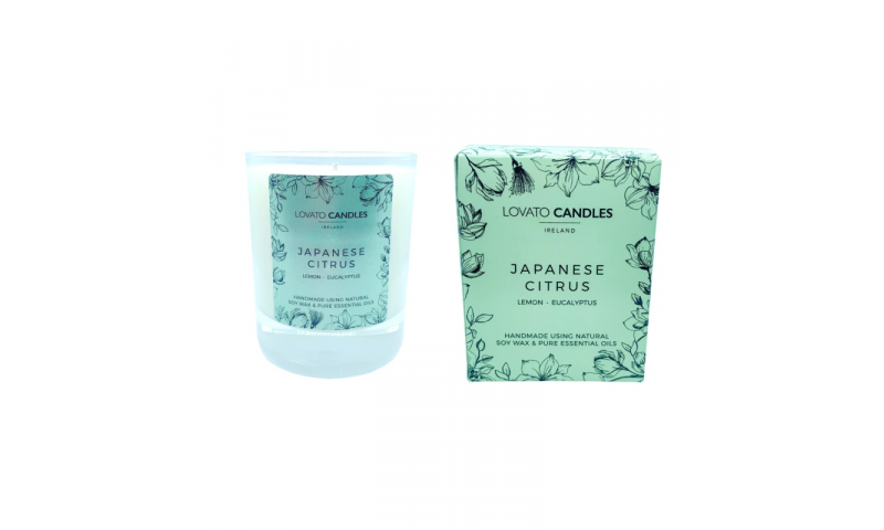 Japanese Citrus - Lovato Boxed Clear Candle