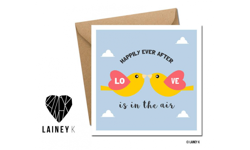 Lainey K Greeting Card: 'Happily Ever After'