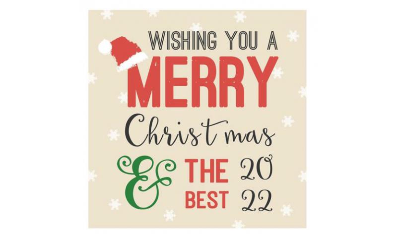 Lainey K Christmas Card 'Merry Christmas , Best For 2022'