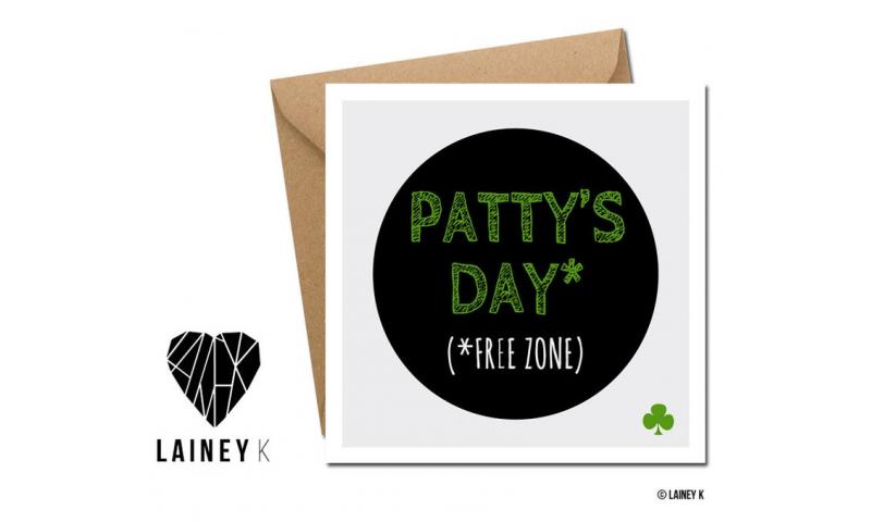 Lainey K St. Patricks Day Card: 'Patty's Day'