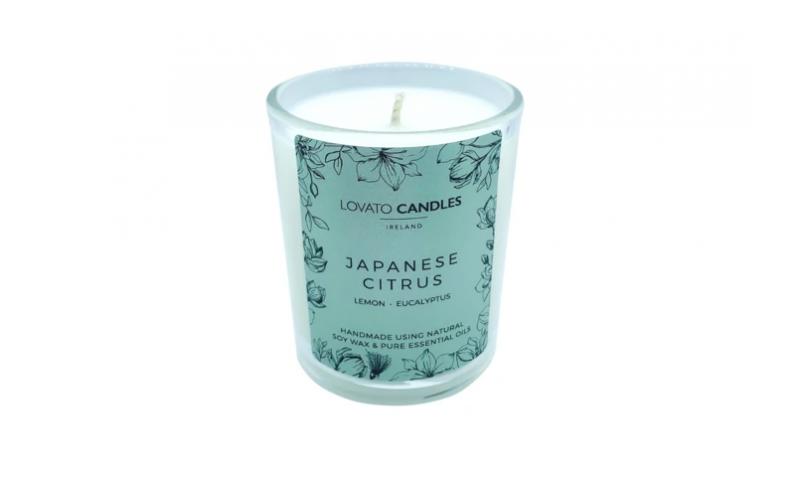 Japanese Citrus - Lovato Clear Votive Candle