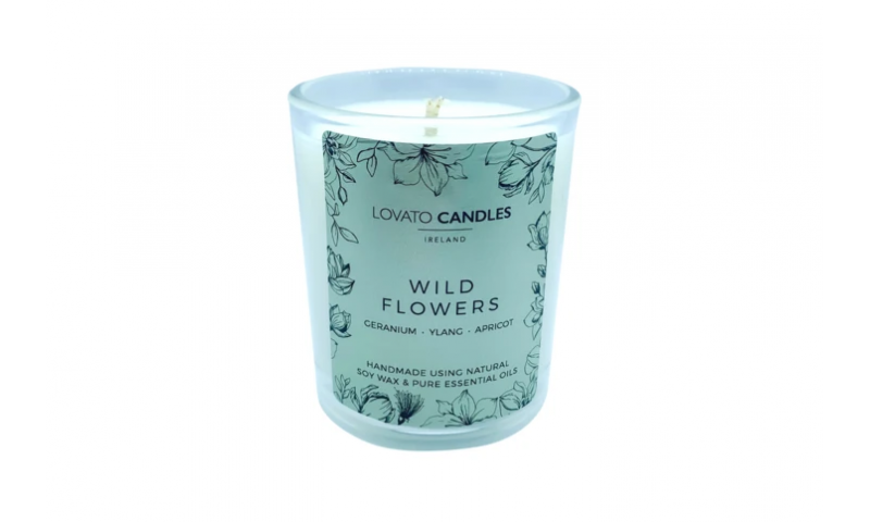 Wild Flowers - Lovato Clear Votive Candle